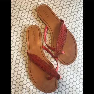 Women's sandals Coach 10